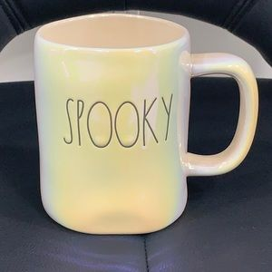 Rae Dunn Iridescent  Spooky brand new !!
